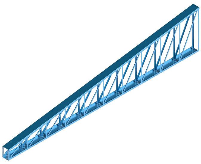 Parametrics Treliça perfil L duplo 1 água High