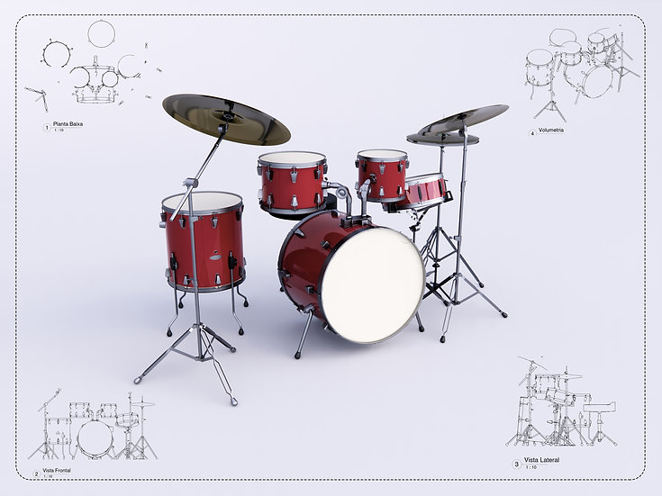 Drums Revit High Quality