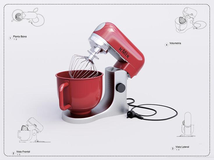 Food Mixer Revit High Quality