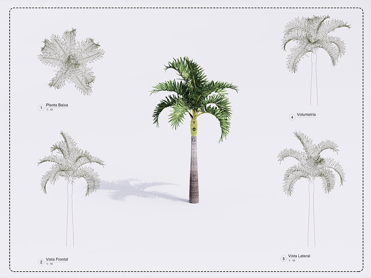 Plant Revit 9 High Quality