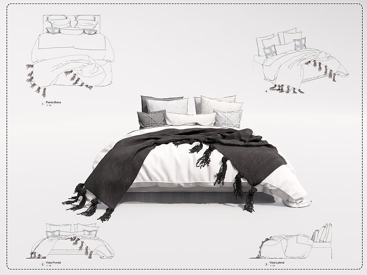 Bed Revit 19 High Quality