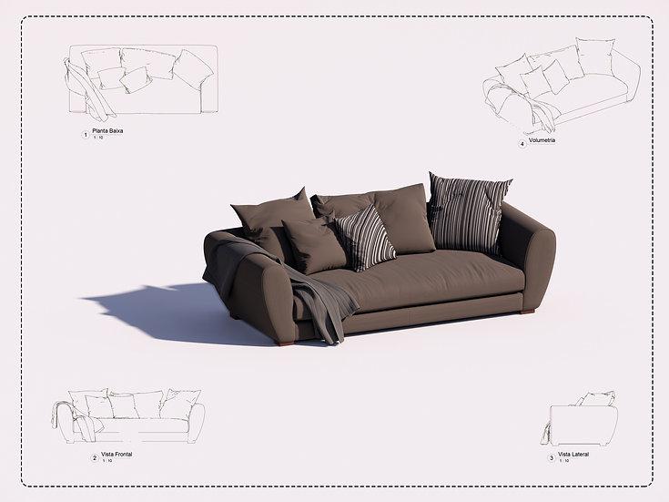 Sofa Revit 30 High Quality