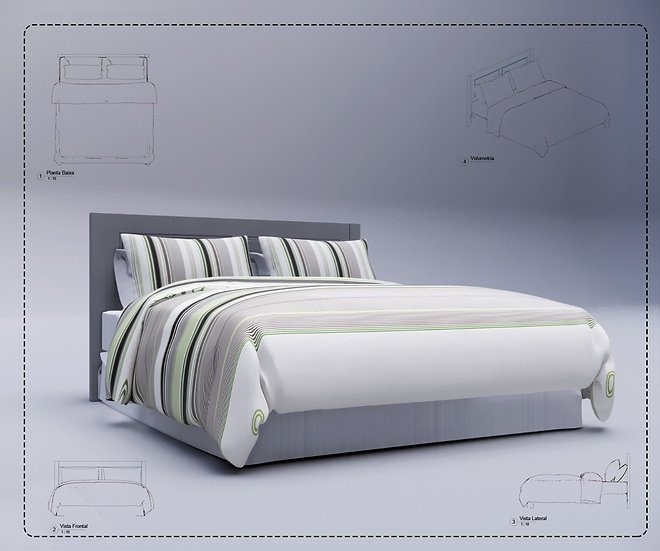 Bed Revit 8 High Quality
