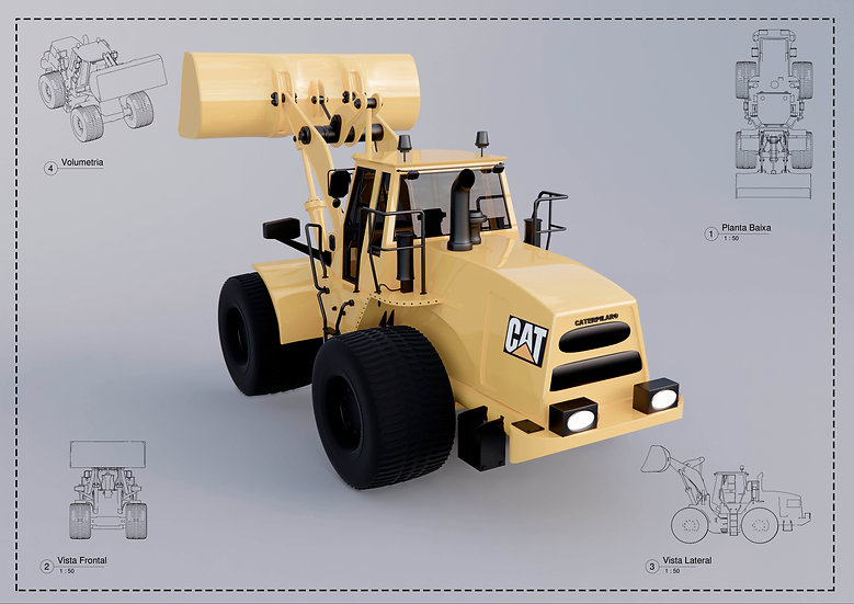 Wheel Loader Revit High Quality
