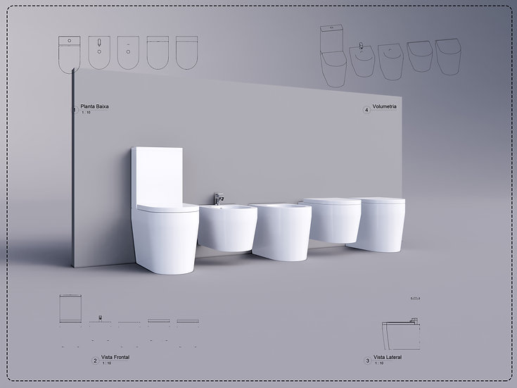 Bathroom Decor 9 Revit High Quality