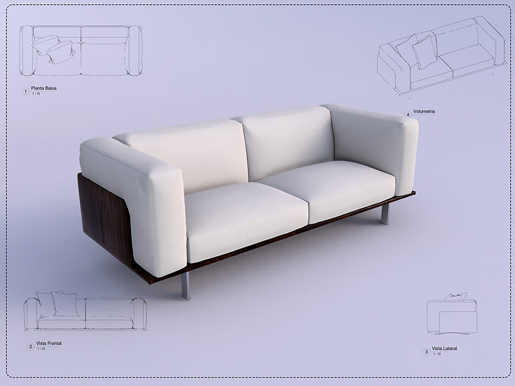 Sofa Revit 44 High Quality