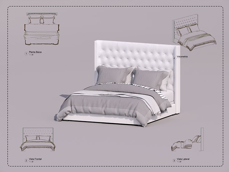 Bed Revit 21 High Quality