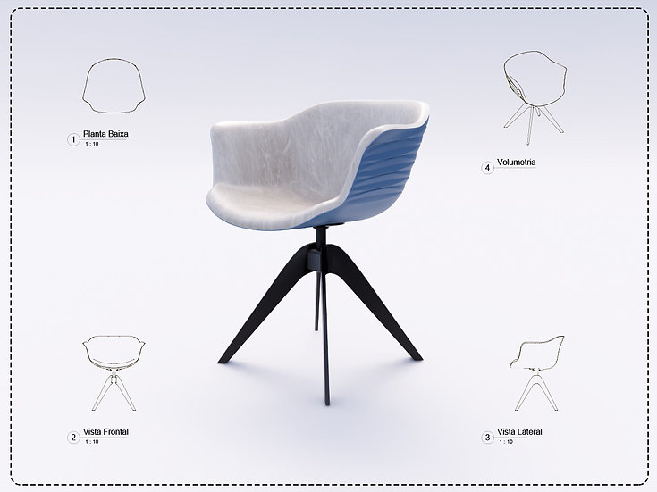 Armchair Revit 26 High Quality