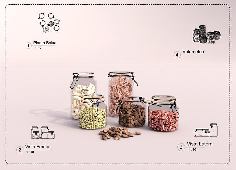 Decor kitchen 02 Revit High Quality