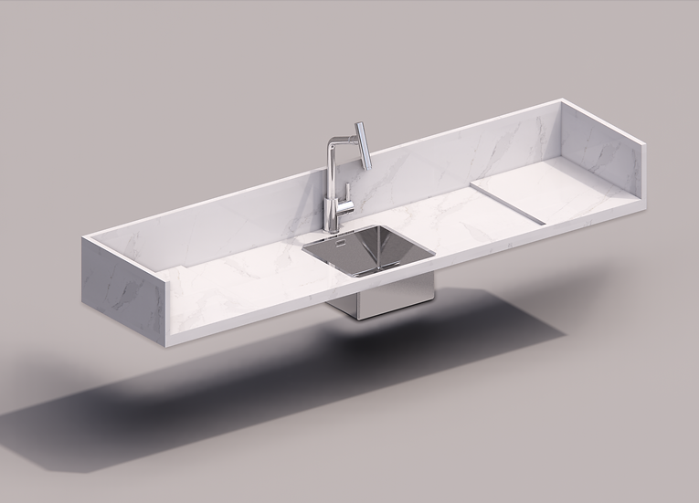 Parametrics C Kitchen Tub 01 High Quality