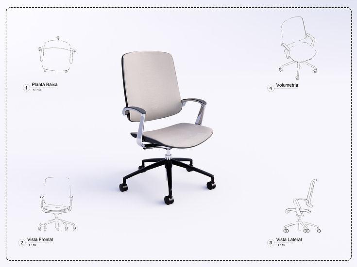 Chair Revit 11 High Quality