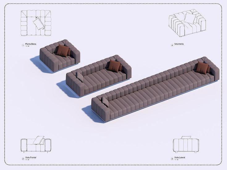 Parametric E Sofa High Quality