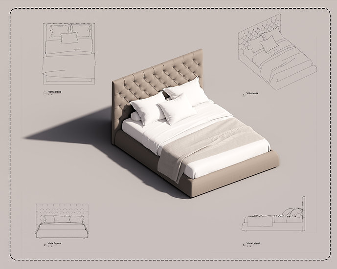 Bed Revit 28 High Quality