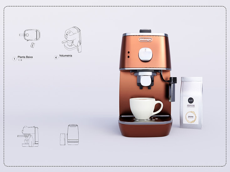 Coffee Machine Revit High Quality