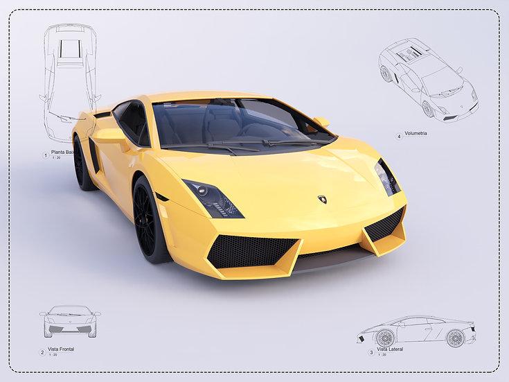 Lamborghini Revit High Quality