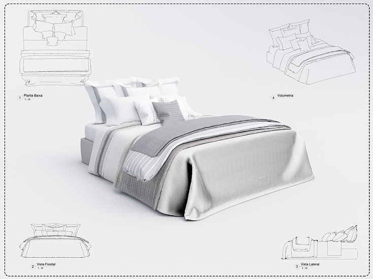 Bed Revit 25 High Quality