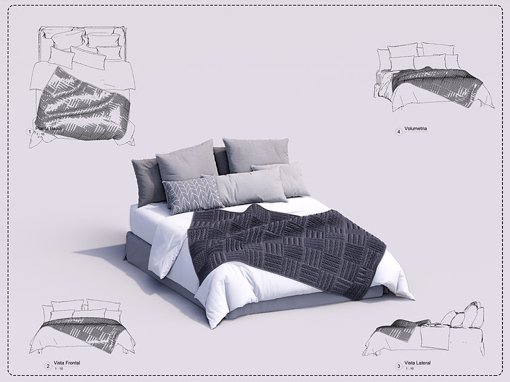 Bed Revit 26 High Quality