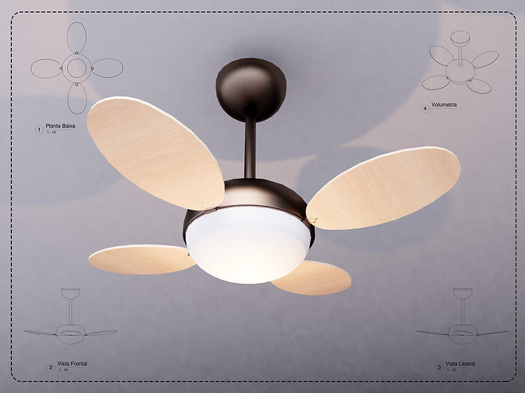 Ceiling Fan Revit High Quality