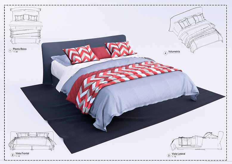 Bed Revit 35 High Quality
