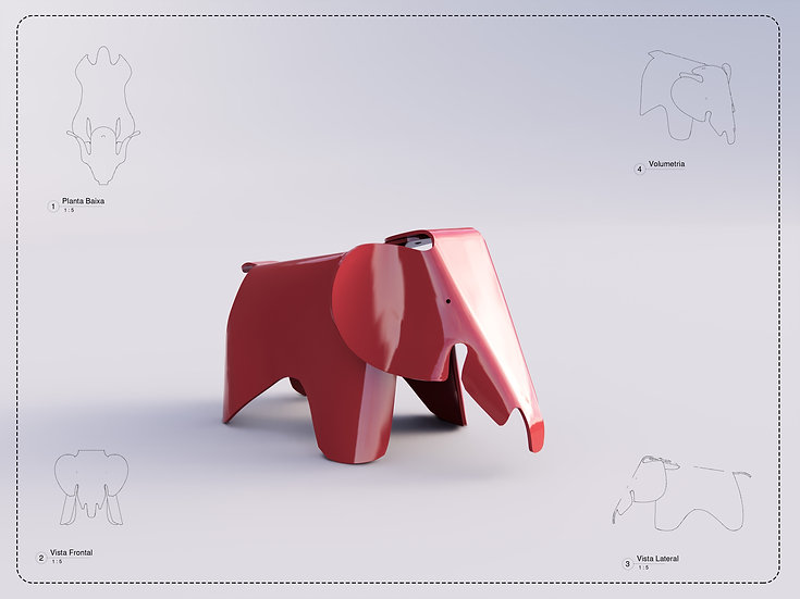 Elephant Eames Revit High Quality