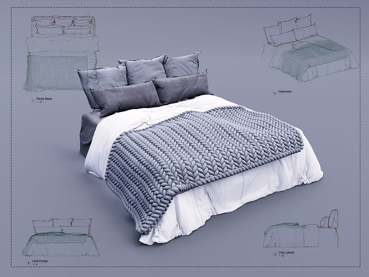 Bed Revit 10 High Quality