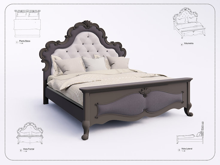 Bed Revit 33 High Quality