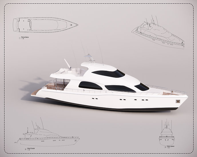 Boat Revit High Quality