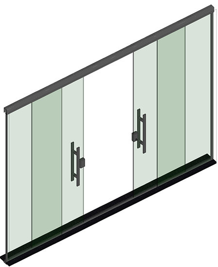 Parametric F Door 07 High Quality