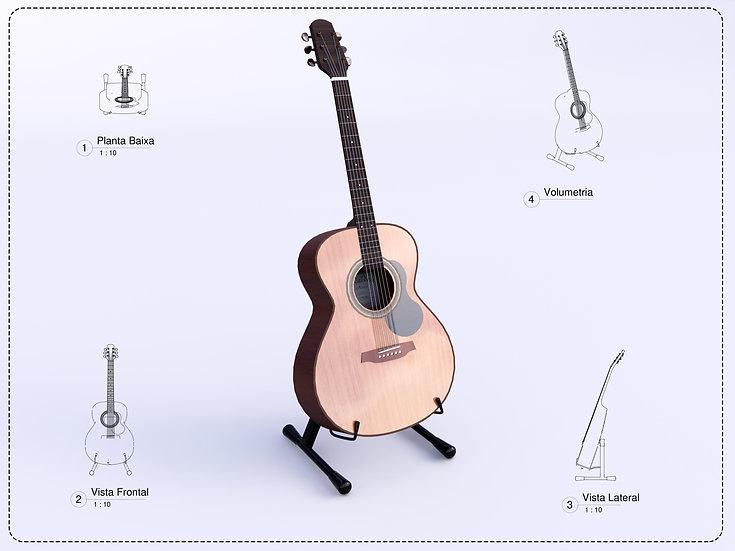 Acustic Guitar Revit High Quality