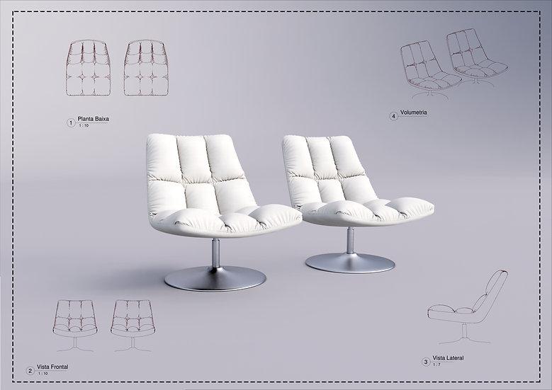 Armchair Revit 16 High Quality