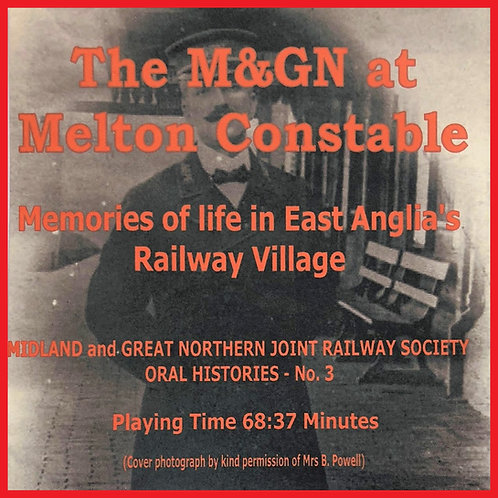 The M&GM at Melton Constable