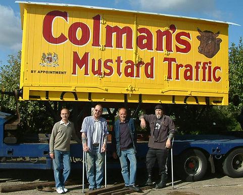Colman's Van 4807