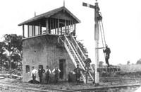 Melton West signal box