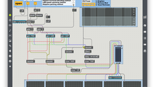 Stereo to 5.1 Channel Converter in Max/MSP
