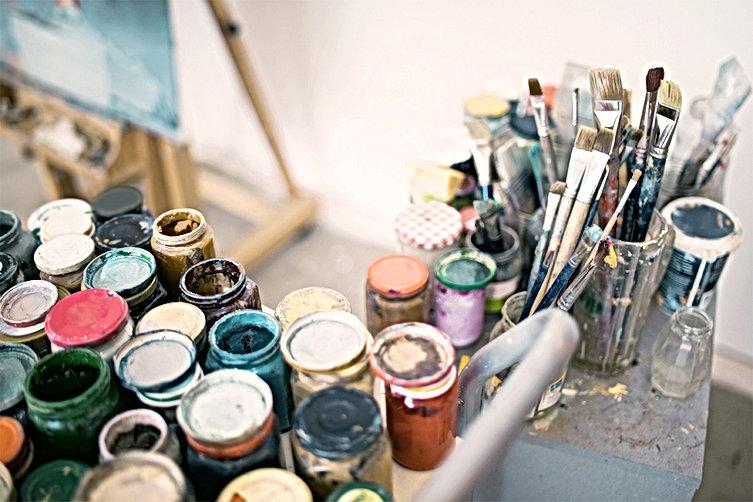 art thérapeute saint etienne, 42000, peinture, collage, thérapie, couleurs, alice chizat