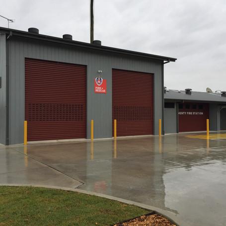 Henty Fire Station