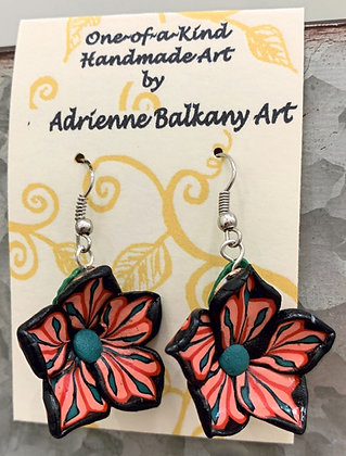 Adrienne Balkany Art Earrings