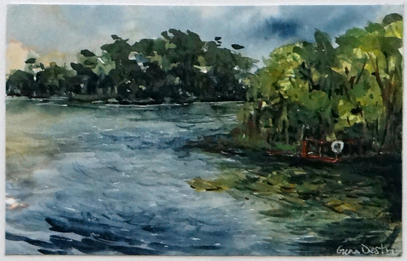 Florida Lake Print