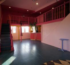 Venue space - bar and mezzanine