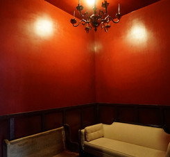 Bar space - red room