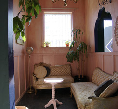 Bar space - pink room