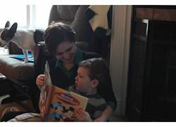 Rowan and Mommy