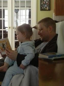 Cedella and Daddy