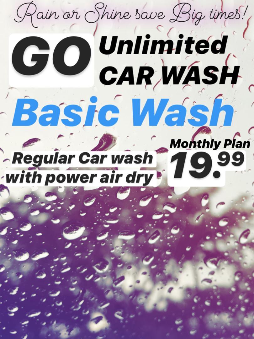 Unlimited Basic Wash