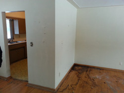 BEFORE WALL REMOVAL