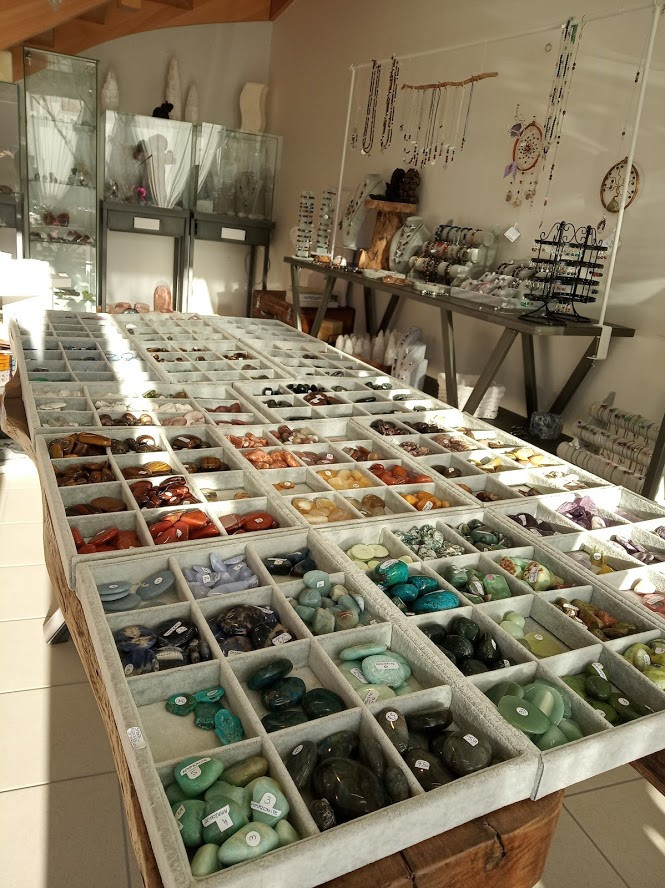 magasin minéraux Heyrieux en Isère