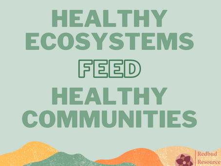 Curriculum Announcement: Healthy Ecosystems Feed Healthy Communities