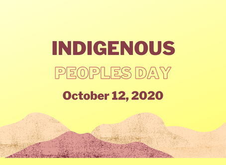 Indigenize Your Lessons: Indigenous Peoples' Day 2020 - Thoughts And Resources For Educators