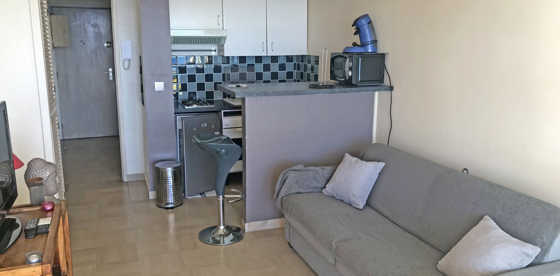 pulizie salotto appartamento