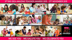 Amazing Teacher Awards 2015 - Poster